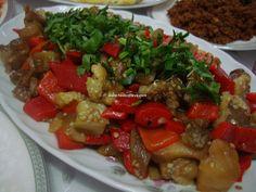 közbiberli patlıcan salata