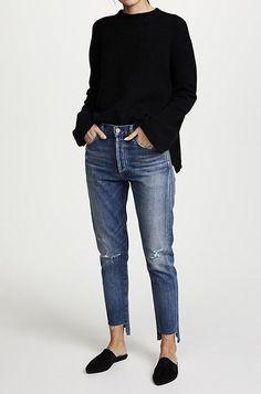 Jean Jacket outfits – Page 4220917798 – Lady Dress Designs Looks Style, Casual Looks, Style Me, Looks Jeans, Casual Outfits, Fashion Outfits, Fashion Clothes, Fall Outfits, Fashion Women