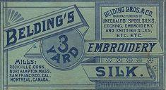 *The Graphics Fairy LLC*: Vintage Graphic - Embroidery Label Vintage Labels, Vintage Ads, Vintage Sewing, Vintage Graphic, Graphics Vintage, Printable Vintage, Vintage Clip, Vintage Ephemera, Vintage Stuff