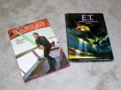 2 Vintage ET & Luke SkyWalker Books (from original Movies)