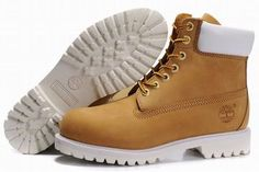 Timberland 6 Inch Premium Waterproof Boot Wheat White Mens