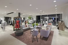 PKZ Women flagship store by Schweitzer Group, Zurich – Switzerland | Best Retail Space Design Projects 2014 http://www.mydesignweek.eu/best-retail-space-design-projects-2014/#.VJGvPV4g8