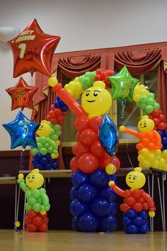 Balloon Lego People und Arch Call It's Party Time unter wenn Sie m. Balloon Lego People und Arch Call It's Party Time unter wenn Sie möchten . Lego Party Decorations, Lego Party Games, Lego Themed Party, Balloon Decorations, Lego Parties, Lego Balloons, Birthday Balloons, Ninja Birthday Parties, Boy Birthday