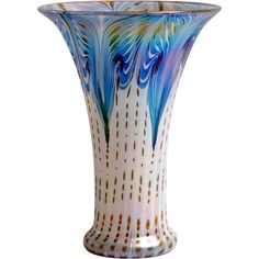 "Art Nouveau Vase ""Hubertus"" in the styl of Loetz. Offered by Oljos on RubyLUX."
