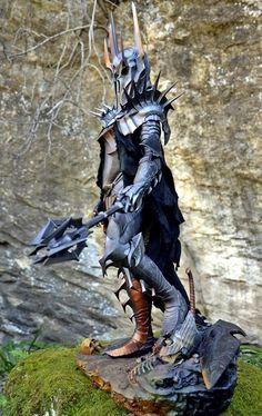 Sauron Premium Format Sideshow Figures, Dark Souls Art, Elf Art, Armor Concept, Soul Art, Jrr Tolkien, Dark Lord, Medieval Art, Fantasy Inspiration