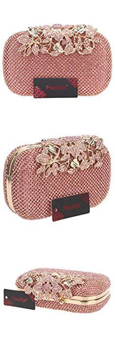 Name Brand Purses List. Fawziya Flower Purses With Rhinestones Crystal Evening Clutch Bags-Pink.  #name #brand #purses #list #namebrand #brandpurses #purseslist