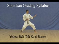 Our yellow belt shotokan karate syllabus comprises of single techniques throughout, there are no combinations. Our kyu shotokan karate grading syllabus, has the first combinations in our syllabus Shotokan Karate Kata, Japanese Karate, Kyokushin, Yellow Belt, Martial Arts Workout, Wing Chun, Dojo, Tai Chi, Abs