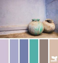 DesignSeeds® FB { potted hues } January 17 2014