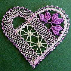 Bobbin Lace Heart