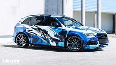 Audi SQ5 urban camo
