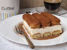 Tiramisu reţetă originala, cu frisca No Cook Desserts, Sweets Recipes, Cheesecakes, Cake Cookies, Recipies, Baking, Coffee, Ethnic Recipes, Traditional