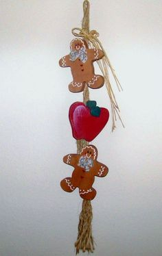Nice to have around Apples and gingerbread men by JEchardCreations, $10.00