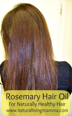 Rosemary hair oil - heal your hair with this #natural #herb oil. Great for dry scalp, dandruff, split ends. Reinvigorate and revitalize your hair!