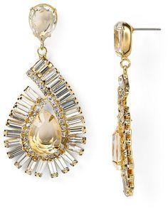 RJ Graziano Holiday Paisley Drop Earrings on shopstyle.com