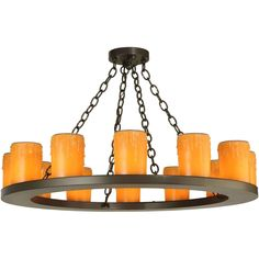 36 Inch W Loxley 12 Lt Chandelier
