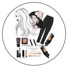 """Natural Woman"" by vanessavardanyan ❤ liked on Polyvore featuring Ivanka Trump, Topshop, Ted Baker, Bobbi Brown Cosmetics, Chanel and Deborah Lippmann"