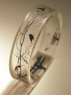 {Raven} Crow bangle... #Raven #Crow #jewellery