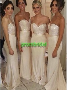Cheap bridesmaid dress with jacket, Buy Quality dress korean directly from China bridesmaid dress purple Suppliers: 2015 Ivory Long Bridesmaid Dresses vestidos de fiesta with Sequins Bodice Cheap Mermaid Wedding Party Dresses Hot Sale Bridesmaid Dresses Long Champagne, Mermaid Bridesmaid Dresses, Lace Bridesmaid Dresses, Mermaid Dresses, Wedding Bridesmaids, Prom Dresses, Sequin Bridesmaid, Evening Dresses, Dress Prom