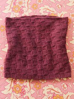Blue Sky Alpacas Royal Petites Catherine Cowl Knitting Pattern