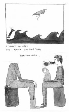 An interview with poet/comic artist Bianca Stone.