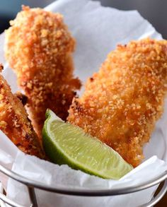 Chipotle Lime Chicken Fingers Recipe