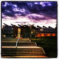 """@sussexuni's photo: """"Moody skies over our new Jubilee Building #sussexuni #sussexfreshers"""""""