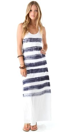 Drucie Maxi Dress--I'd like the stripes on the diagonal.