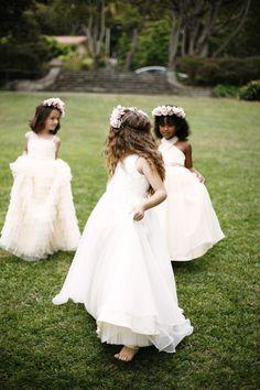 Photography: http://belathee.com   Dresses: http://kirstiekelly.com   Read More: https://www.stylemepretty.com/vault/image/1145743