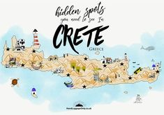 Out of all the Greek islands like; Corfu, Samos, Santorini or Mykonos, Crete is (without a doubt) the largest. It's a place filled with everything from historic forts, plates of yummy Greek food and oodles of beautiful scenery. There's