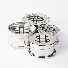 3 Piece Money Can Type Herb Grinder