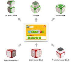 Cubroid - An Interactive wireless modular robotics. by Cubroid — Kickstarter Light Sensor, Robotics, Coding, Teaching, Feelings, Creative, Projects, Fun, Kids