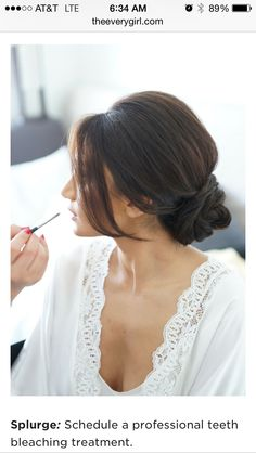 bridesmaid hair without the braid. i wont have anywhere near enough hair for all that bun