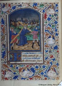 Book of Hours, MS M.28 fol. 19r - Images from Medieval and Renaissance Manuscripts - The Morgan Library & Museum