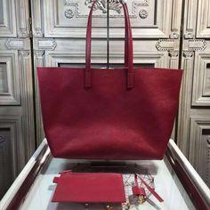 Saint Laurent 354105 Tote Bag In Grained Calfskin Red ] : Real Bag Sale Designer Bags For Less, Saint Laurent Tote, Bag Sale, Michael Kors Jet Set, Saints, Chanel, Handbags, Tote Bag, Ysl