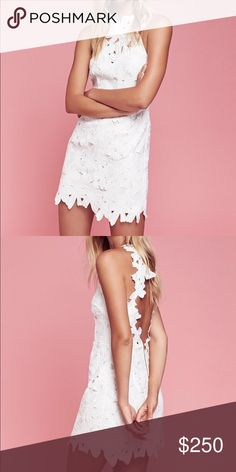 Free people jessa dress white xs NWT Beautiful dress by free people! NWT. Size xs but fits like a small Free People Dresses Mini