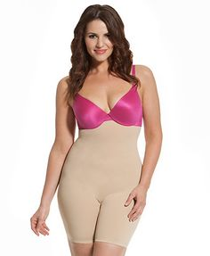 High Waist Shaping Mid-Thigh from HookedUp Shapewear