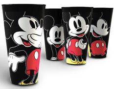 Mickey Mouse Popcorn Holders