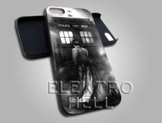 AJ 1731 Dr Who The Tardis Box - iPhone 4/4s/5 Case - Samsung Galaxy S2/S3/S4 Case - Black or White by ELECTROHELL on Etsy