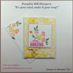 Painted Petals by Stampin' Up!