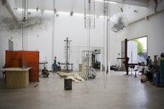 Antony Gormley's Studio