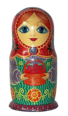 Matryoshka Nesting Doll.