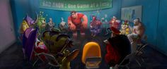 Wreck-It Ralph: 100 Original Concept Art Collection - Daily Art, Movie Art