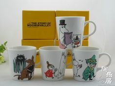 Moomin ceramic coffee cup glass cup cartoon cup lovers cup set-inMugs from Home & Garden on Aliexpress.com http://www.aliexpress.com/item/Moomin-ceramic-coffee-cup-glass-cup-cartoon-cup-lovers-cup-set/1486832845.html