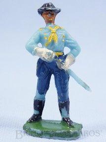 Brinquedos Antigos - Casablanca e Gulliver - Tenente Rip Masters da 7ª Cavalaria desembainhando o sabre