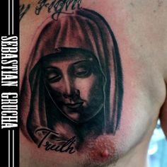 #tattoo#tattoolife#mary#ja#gruchatattooz