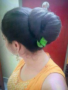 Indian Hair Cuts, Indian Long Hair Braid, Braids For Long Hair, Long Silky Hair, Long Dark Hair, Long Ponytail Hairstyles, Indian Hairstyles, Beautiful Long Hair, Beautiful Buns