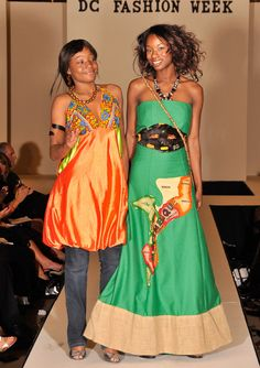 Vanda Tique African Print in Fashion