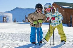 """Save money with a """"kids ski free"""" deal. Here's how to score free lift tickets for kids on a family ski trip this winter."""