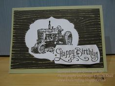 Knall Crafting!: Stampin' Up! Harvest Blessings