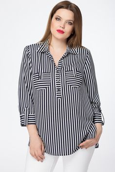 """Kaufen Sie Bluse im Online-Shop """". Fashion Pants, Hijab Fashion, Fashion Dresses, Blouse Styles, Blouse Designs, Bluse Outfit, Hijab Stile, Sewing Blouses, Blouse And Skirt"""